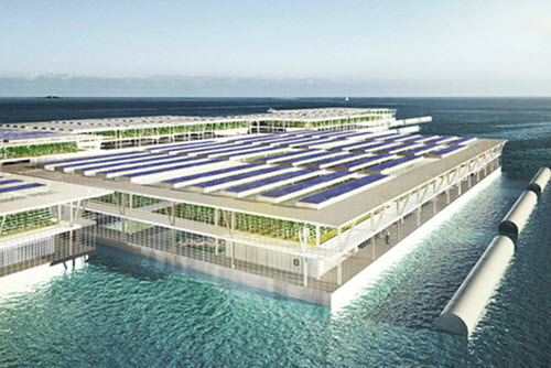 Floating Farms – The Future of Farming?